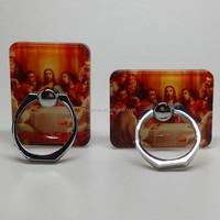 Religious smartphone ring holder