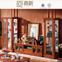 2015 East europe style wooden antique cabinet