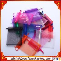 China Organza Bags Wholesale Sheer Organza Pouch