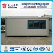 Quick-assembling standard 20 ft container house for living apartment