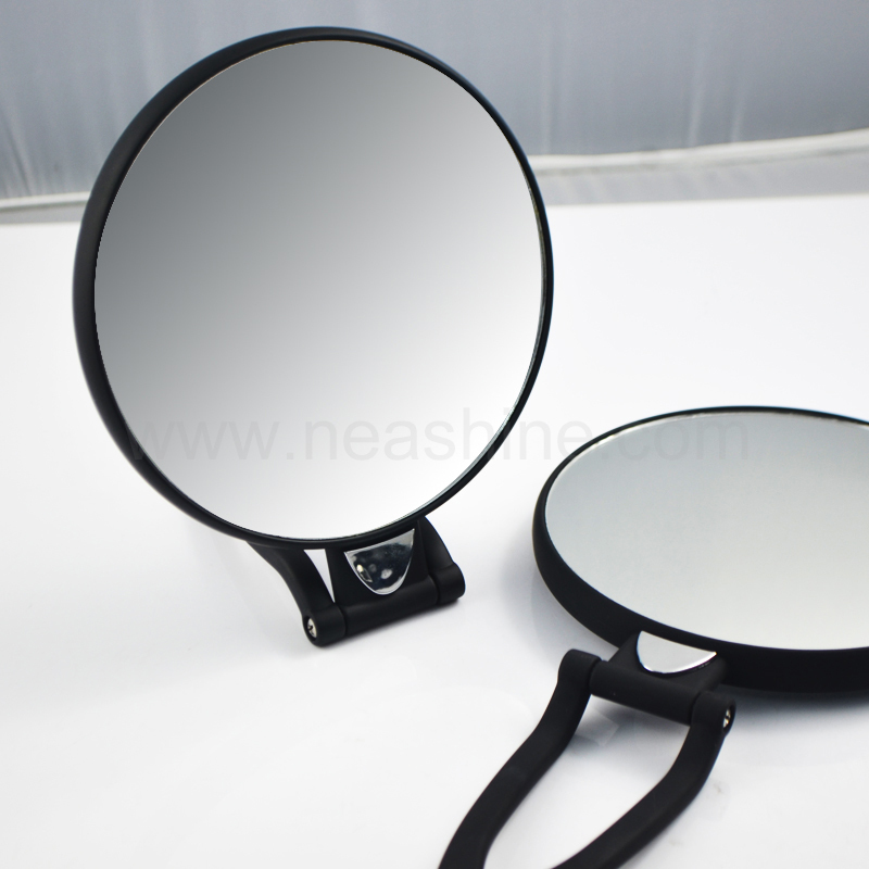En plastique pliable de poche miroir poche ronde miroir for Miroir western