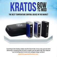 Kratos 60 TC Mechanical Mod Voltage Variable