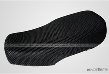 Breathable and heat proof mesh motorcycle seat cover , 2015 Hot sale!