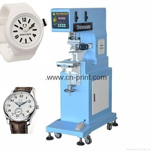 multi-fuctional small format sealed ink cup 1-color pad printing machine for plastic or metal wrist watch dial or watch belt