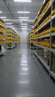 manufacturing selective sample shelves