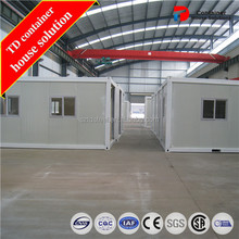 Steel frame living container