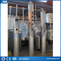 500L industrial steam gin distiller distillation equipment for sale