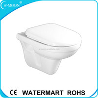 White Ceramic Italian Wall Hung Toilet with Cheap Price