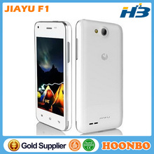 Wholesale Original Jiayu F1 4Inch Touch Screen Mobile Phone MTK6572 Dual Core 1.3Ghz 512Mb RAM 3G WCDMA 4G ROM 2.0+5.0Mp Camera