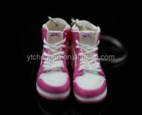 Bulk different styles Jordan 1 pink sneaker keychain