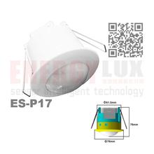 ES-P17 Infrared Motion Sensor for ceiling motion sensor PC material