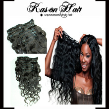 Hot Sale Classical Brazilian Body Wave Clip In Hair Extensions For African American Magnetic Hair Clip In Hair