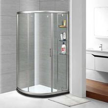 sliding glass shower room
