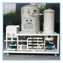 2015 the newest vacuum used transformer oil decoloring and purifying system