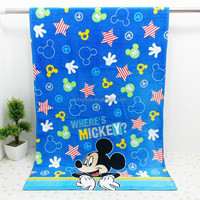 beach towel with embroidery logo