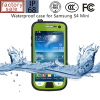 Waterproof Drop Proof Case for Samsung Galaxy S4, Bumper Case for S4, For Samsung Galaxy S4 Mini Rugged Case