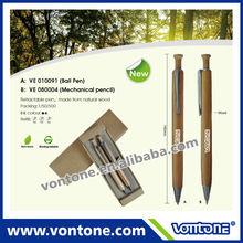 promotional wooden ball pen