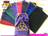Colorful Mini velvet drawstring bag