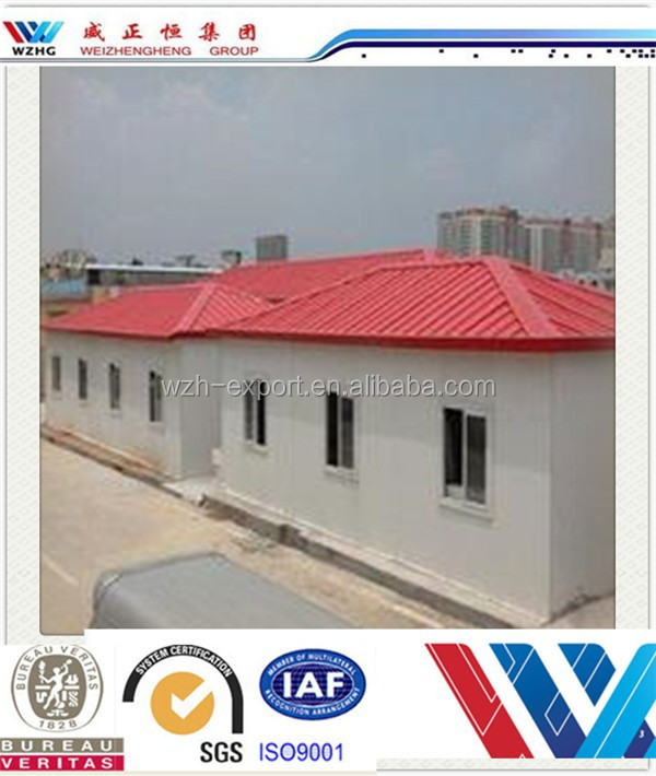 Cheap new construction products green house wooden house for New roofing products