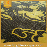 high quality low price hand mande New Zealand wool rug