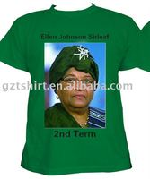 Printing election campaign cotton tee shirt