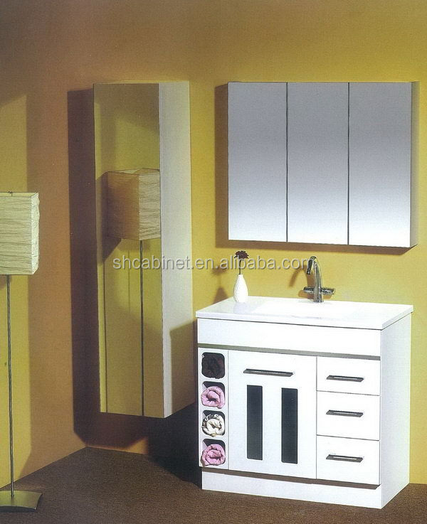 Popular New Products Bathroom Floor Storage Cabinets