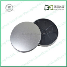 Silver Simple Empty CD case,metal tin box wholesale