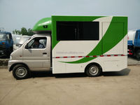 Electric mobile sales truck