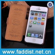 Low Price China mobile phone case for iphone 5 5s leather lychee