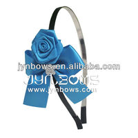 2013 korean Colorful Fashion hair accessory for Kids-196colors Satin hair band-Handmaking hairband for Lady
