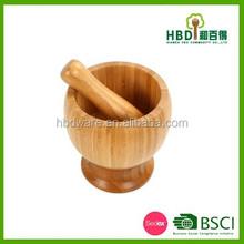 Bambú / de madera de ajo trituradora / trituradora de la con etiqueta engomada