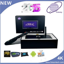 Foisontech factory amlogic mx firmware android box tv with 48 language global box amlogic S812 android 4.4.2