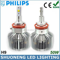 Best Seller New 25W 3000lm 6000K 11V 30V Cars Accessories H9 Replacement LED Auto Head Light