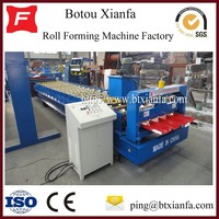 Single Deck Sheet Metal Roof Panel Roll Forming Equipment