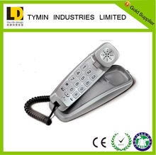 Alibaba express factory price corded slim phone with small cute handset