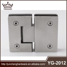 Stainless steel 304 self closed shower hinge for 8MM to 12MM tempered glass