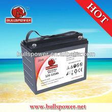 Hot selling--12v135ah vrla accumulator,agm battery solar for power supply