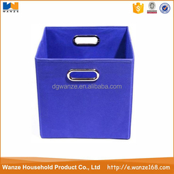 Fashion Non-Woven fabric collapsible storage box wholesale