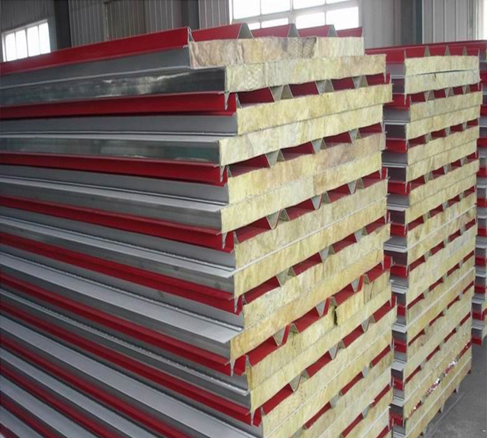rockwool insulation sandwich panel