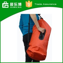 20L Roll Top Closure Removable Shouder Strap 500D PVC Taupaulin Waterproof Dry Bag with Handle