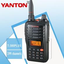 Yanton t-300plus amateur de mano de radio con la fcc y aprobación kcc
