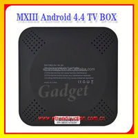 Android Kitkat 4.4 Amlogic S802 Minix Dual Band WIFI MXIII Quad Core Android TV Box Fully Loaded XBMC