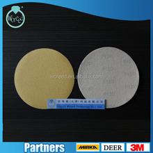 Grit coated Abrasive paper For Wood CompoundGrinding Polishing AZS Hook and Loop Tianjin/ MANUFACTURER