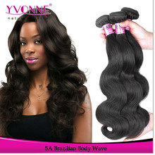 Wholesale body wave virgin brazilian hair bundles factory price