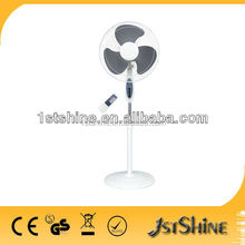 16 inch AC electric round base Remote control stand fan