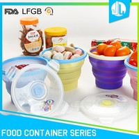 Microwave small szie portable food box easy lock container