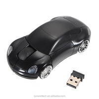 2.4G Wireless Optical Super Car Pattern USB Mouse