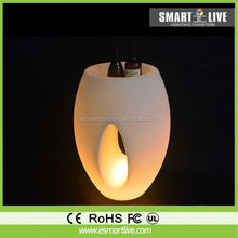 outdoor inflatable tusk/LED inflatable ivory decoration/inflatable LED elephant tusk decoration