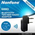 nanfone adaptador de radio de dos vías bluetooth adaptador de radio