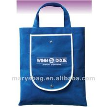 Polytex Fold-up Shopper Tote Bag with Pouch